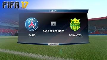 FIFA 17 - Paris Saint Germain vs. FC Nantes @ Parc des Princes