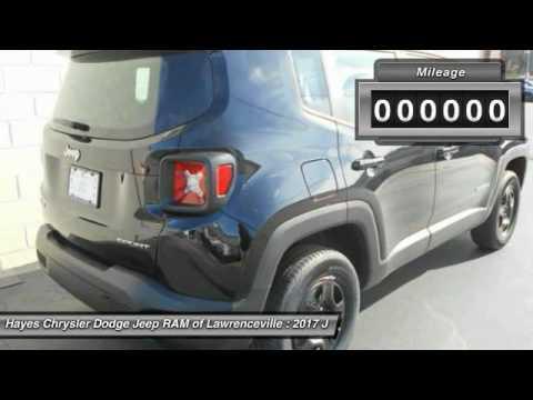 2017 jeep renegade lawrenceville ga l745020 youtube. Black Bedroom Furniture Sets. Home Design Ideas