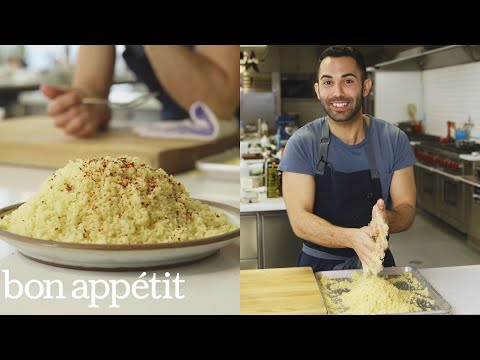 Bon Appetit Test Kitchen the complicated couscous (that's worth the effort) | from the test
