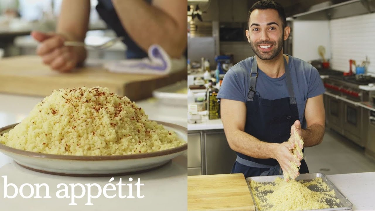 Andy Makes Complicated Couscous That S Worth The Effort From The Test Kitchen Bon Appetit