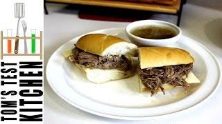 Dad Friendly - French Onion Dip Sandwiches