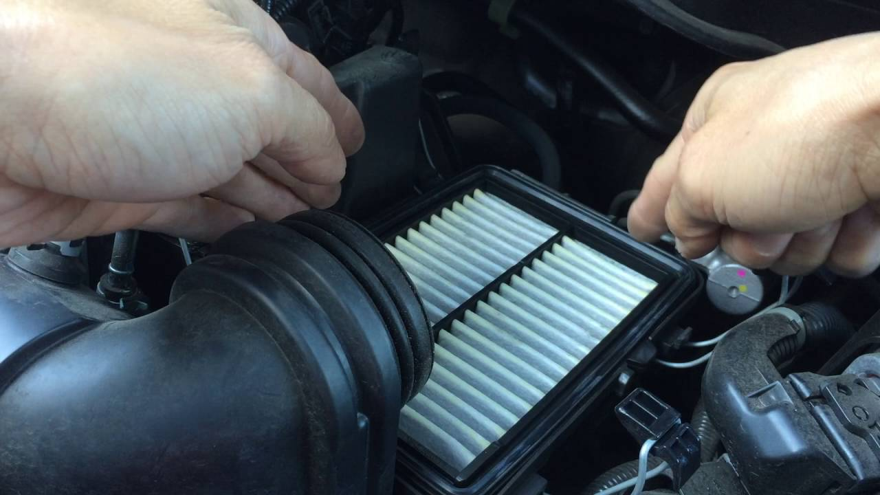 small resolution of 2015 honda fit engine air filter replacement