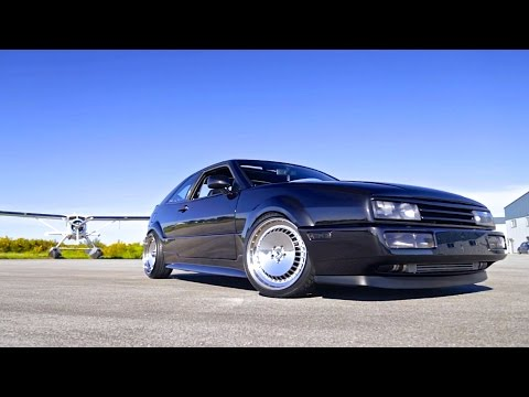 The Cleanest VW Corrado You've Ever Seen | Turbo VR6