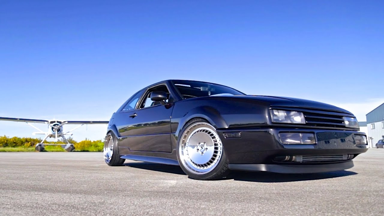 the cleanest vw corrado you 39 ve ever seen turbo vr6 youtube. Black Bedroom Furniture Sets. Home Design Ideas