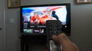 How To Use Using Comcast Xfinity X1 Remote HD Box TV