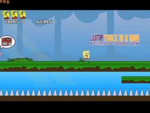 Игра Спанч Боб приключения в нарисованном мире