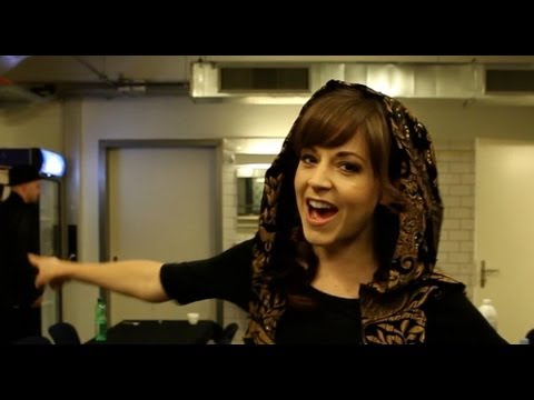 """""""Backstage at the Ms. Switzerland Pageant Pt. 2- Lindsey Stirling"""""""
