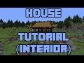 Minecraft: Japanese House Tutorial Part 2 (Interior Idea)