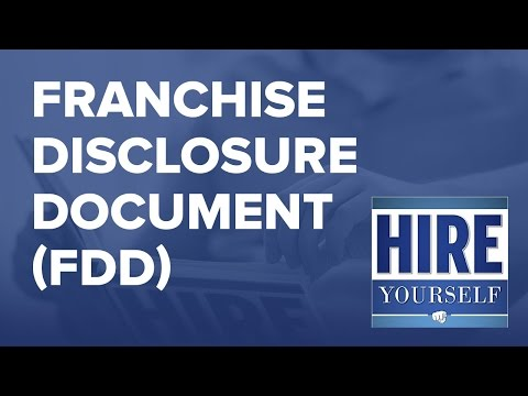 Franchise Disclosure Document | HIRE YOURSELF