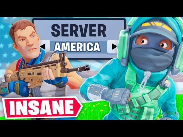 Ich habe endlich auf amerikanischen Servern gespielt ...  + video
