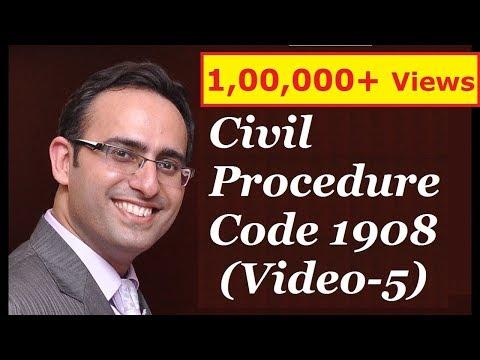 CPC 1908 [Video-5] - Decree