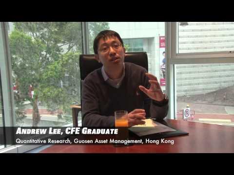 Meet the CFE Graduate: Andrew Lee