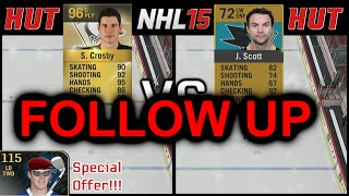 Follow UP - HUT Ratings are ALMOST Meaningless - NHL 15