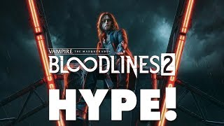 Vampire: The Masquerade - Bloodlines 2 - It's Already A Steam Bestseller (OMGH)
