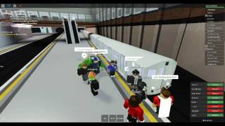 Roblox Mind the Gap Transport-Simulator (WIP) R32 (New York City Subway car) at Dellgate