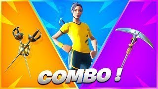 5 SKIN TRYHARD COMBO ON FORTNITE BATTLE ROYALE!