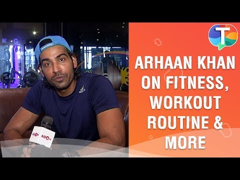Arhaan Khan Talks About Fitness, Workout Routine, Salman Khan And More | Exclusive
