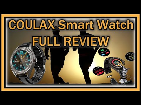 "coulax-sn82-smart-watch-1.3""-touch-screen-fitness-tracker-hr,-blood-pressure,-oxygen-monitor-review"