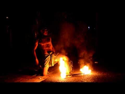 Samoan Fire Dance
