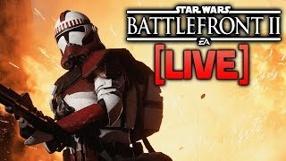 BATTLEFRONT 2 LIVE - Let's unlock more blaster attachments!