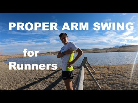 CORRECT ARM SWING WHILE RUNNING | FORM AND TECHNIQUE TIPS FOR RUNNERS!