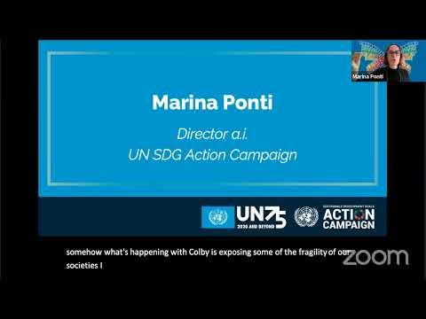 UN75 Dialogue — Economic Transformation: Rebuilding Better