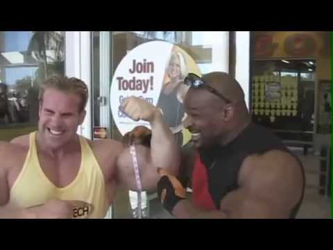 Jay Cutler and Ronnie Coleman Arm Size