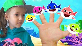 Shark Finger Family | Finger Puppets | Baby Shark where are you?