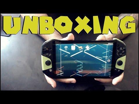 UNBOXING: IPLAY NVIDIA TEGRA 4 - CONSOLE MUITO FODA, MUITO LINDO
