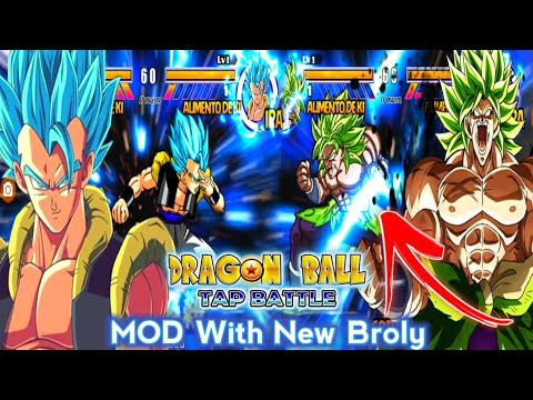 DOWNLOAD New Super Dragon Ball Heroes Tap Battle Mod For Android With 89 Characters