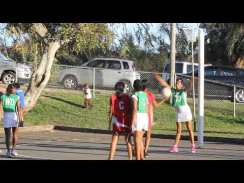 #2 Netball Bermuda January 21 2012