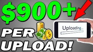 Earn $900+ For 10 Mins WORK Per Upload 🔥ANYBODY CAN DO THIS!🔥 (Make Money Online)