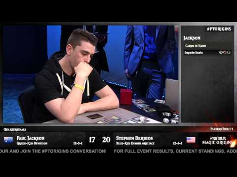 Pro Tour Magic Origins Quarterfinals (Standard): Paul Jackson vs. Stephen Berrios