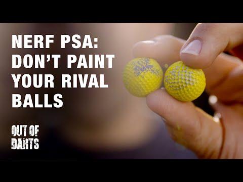 PSA: Don't Paint Your Nerf Rival HIR's AKA Nerf Balls!