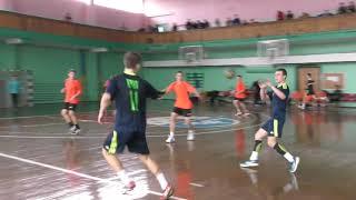 No.5 of the KSLI handball team - centr back Alexander (U16). Ukrainian Championship, boys 2002