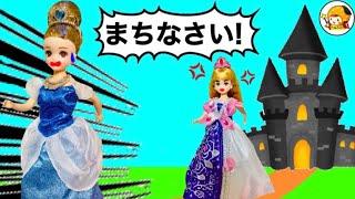 小さくなったプリンセスを戻せ【前編】 シンデレラのお城に潜入★ ガラスの靴を探せ!!