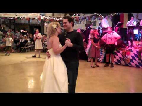 big bear oktoberfest 2010 - que sera sera - wedding dance pt 2