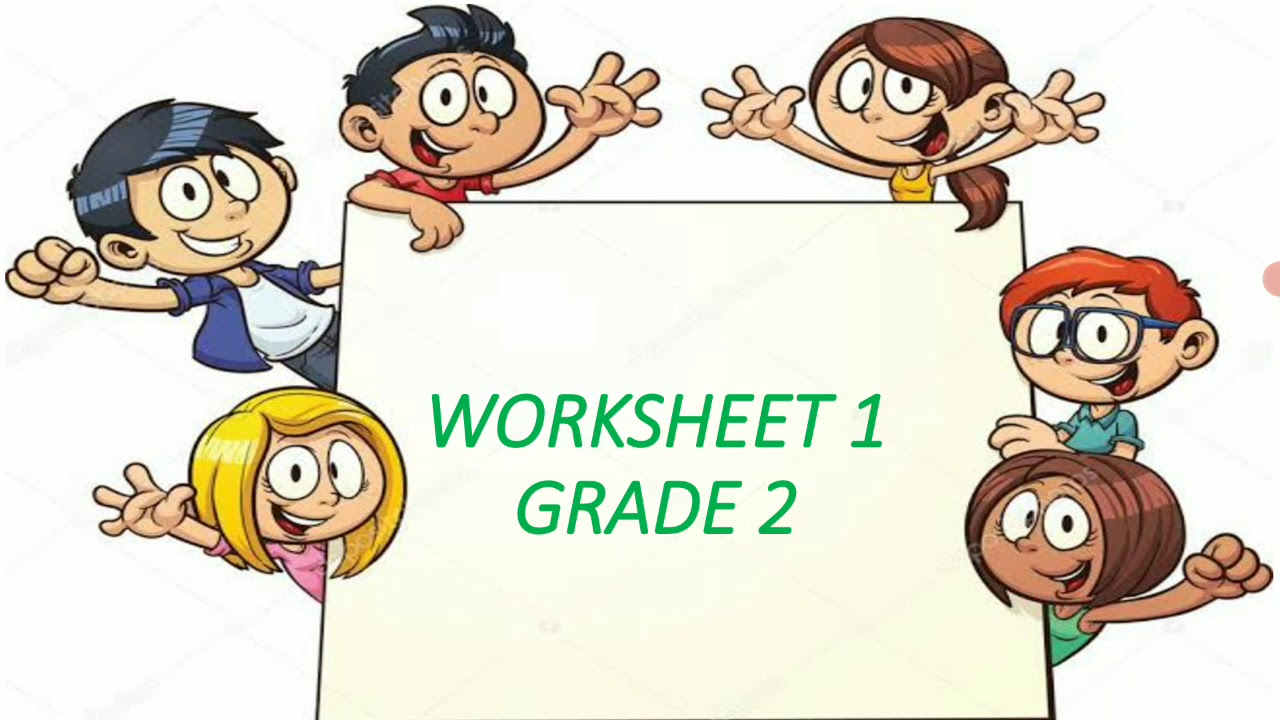 hight resolution of Grade 2 English Worksheet#1 (Capital Letters) - YouTube