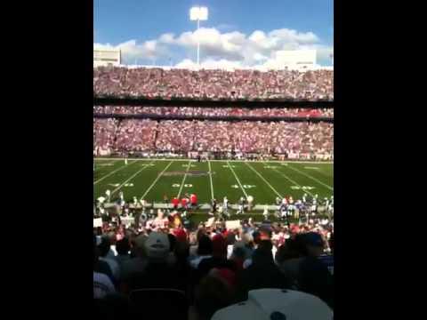 Patriots vs Bills 09/25/2011, Ralph Wilson Stadium crowd