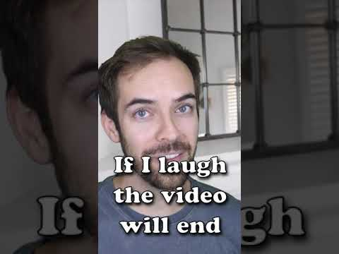 If I laugh hard the video ends shorts
