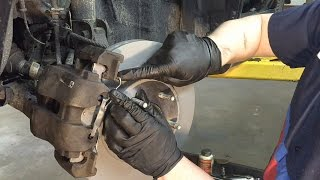 2001-2012 Ford Escape Front Brake Job in Detail