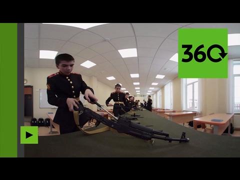 A quoi ressemble la vie quotidienne des étudiants d'une école militaire en Russie ?