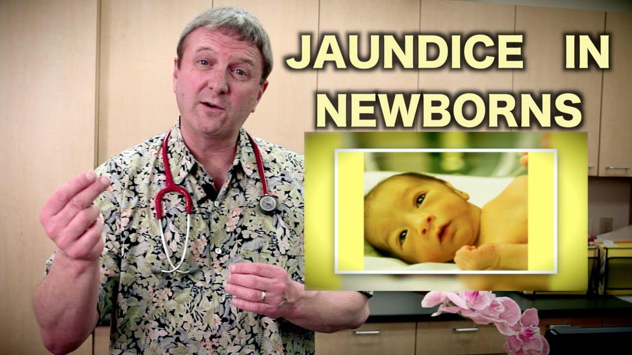Jaundice in Newborns (Pediatric Advice) - YouTube  Jaundice in New...