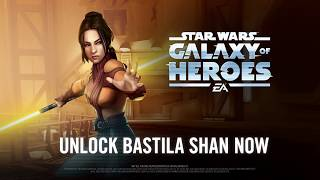 Star Wars: Galaxy of Heroes - Legends of the Old Republic Trailer - Bastila Shan & Jolee Bindo