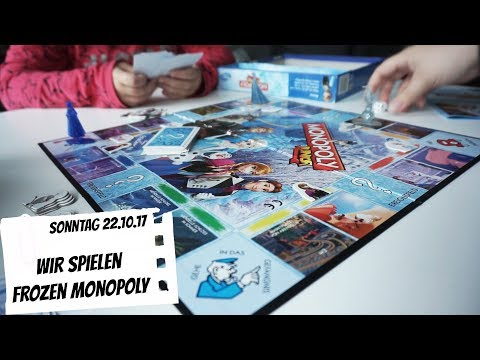 Frozen Monopoly Junior 😍 | Sonntag 22.10.17 | Daily Vlog | FMA | Mel @ Home