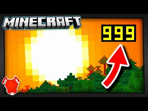 OVER 3999 FRAMES PER SECOND In MINECRAFT?!