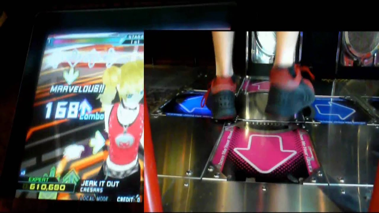 Kon - Starian (Doubles, SSR) SS on DDR 3rd Mix KV2 (Arcade, Korea ...