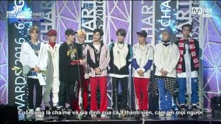 vietsub 170222 the 6th gaon chart k pop awards nct 127 nhận giải rookie of the year