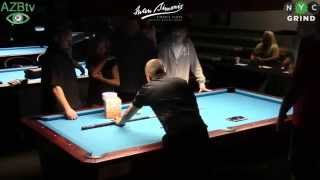 John Morra vs Earl Strickland at The Kings of Billiards 10 ball part 2