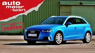 Audi A3 Sportback: Kann´s der rüstige Rentner noch? Test/Review   auto motor und sport